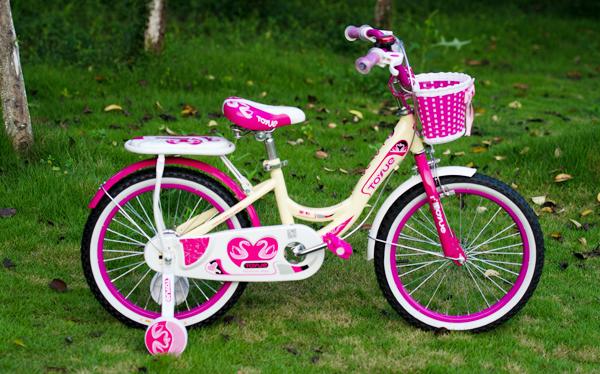 天鹅之恋儿童自行车