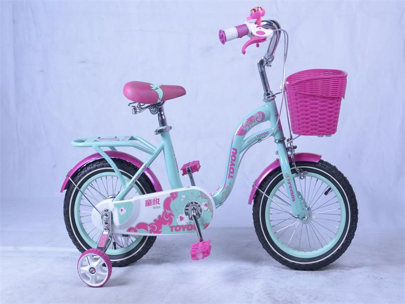 梦幻女神儿童自行车